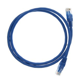 "0.9 Meter (36"") Ethernet Category 6 Enhanced RJ45 Network Patch Cable. Blue"