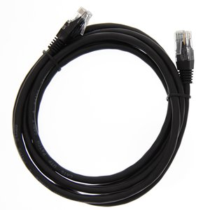 "2.1 Meter (84"") Ethernet Category 6 Enhanced RJ45 Network Patch Cable. Black"