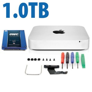 DIY Kit: Data Doubler + 1.0TB Mercury Electra 6G SSD Bundle for Mac mini 2011 and 2012 models.