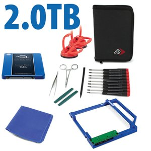 DIY Kit: Data Doubler + 2.0TB OWC Mercury Electra 3G SSD Drive Bundle.