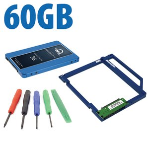 DIY Kit: Data Doubler + 60GB OWC Mercury Electra 3G SSD Drive Bundle + 5 Piece Toolkit.