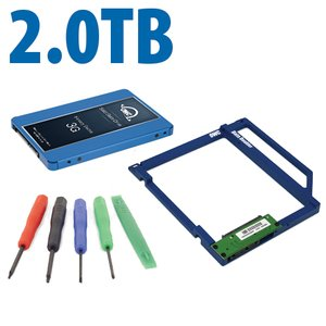 DIY Kit: Data Doubler + 2.0TB OWC Mercury Electra 3G SSD Drive Bundle + 5 Piece Toolkit.