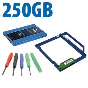 DIY Kit: Data Doubler + 250GB OWC Mercury Electra 3G SSD Drive Bundle + 5 Piece Toolkit.