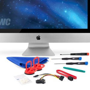 "OWC DIY Internal SSD Add-On Kit for all 27"" Apple iMac (Mid 2010) - Just add your own SSD!"