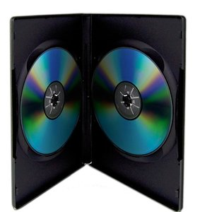 1 Black Dual Disc Case for CD/DVD Media - Package your DVD and CD projects like the studios do!
