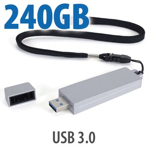 240GB OWC Envoy Pro mini<BR>USB 3 Thumb/Stick SSD