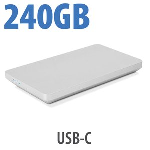 (*) 240GB OWC Envoy Pro EX USB-C NVMe M.2 SSD Solution
