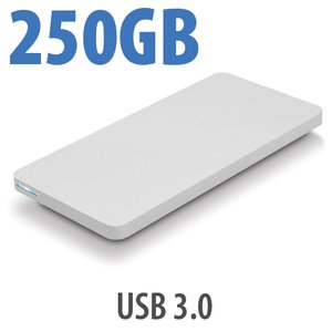 250GB OWC Envoy Pro EX USB 3.0 Portable SSD Solution.
