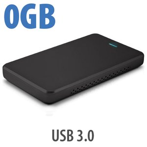 "OWC Express Portable Bus-Powered USB 3.0 Enclosure for 2.5"" SATA Notebook HDDs & SSDs - Discreet Black"