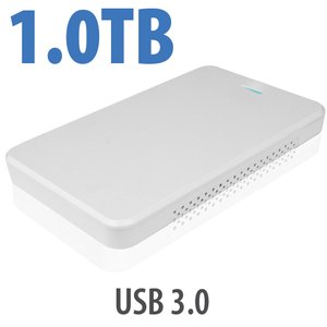 1.0TB OWC Express USB 3.0 Portable External Drive - White