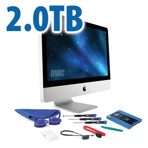 "DIY Kit for 2011 21.5"" iMac's internal SSD bay: 2.0TB OWC Mercury Electra 6G SSD."