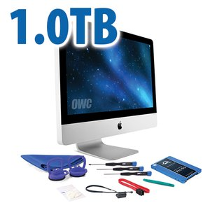 "DIY Kit for 2011 21.5"" iMac's internal SSD bay: 1.0TB OWC Mercury Extreme Pro 6G SSD."