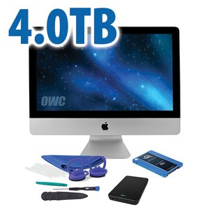 "DIY Kit for 2012 or later 21.5"" iMac's factory HDD: 4.0TB OWC Mercury Electra 6G SSD."