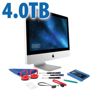 "DIY Kit for 2011 27"" iMac's internal SSD bay: 4.0TB OWC Mercury Electra 6G SSD."