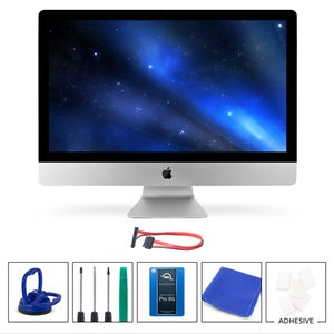 "DIY Kit for 2011 27"" iMac's internal SSD bay: 240GB OWC Mercury Extreme Pro 6G SSD."