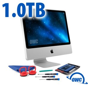 DIY Kit for 2006 - early 2009 iMac's factory HDD: 1.0TB OWC Mercury Electra 6G SSD.