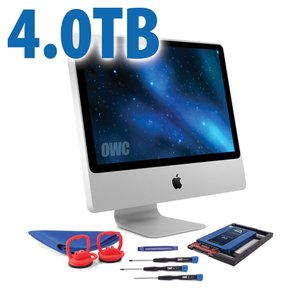 DIY Kit for 2006 - early 2009 iMac's factory HDD: 4.0TB OWC Mercury Electra 6G SSD.