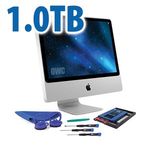 DIY Kit for 2006 - early 2009 iMac's factory HDD: 1.0TB OWC Mercury Extreme Pro 6G SSD.