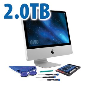 DIY Kit for 2006 - early 2009 iMac's factory HDD: 2.0TB OWC Mercury Extreme Pro 6G SSD.