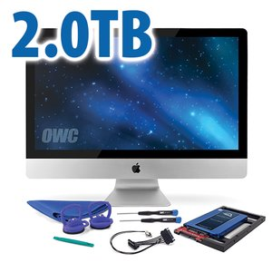 DIY Kit for 2009 - 2010 iMac's factory HDD: 2.0TB OWC Mercury Electra 3G SSD.