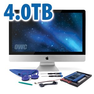 DIY Kit: 4.0TB OWC Mercury Extreme Pro 6G SSD + NewerTech AdaptaDrive + In-line Thermal Sensor.