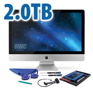 DIY Kit for 2011 iMac's factory HDD: 2.0TB OWC Mercury Electra 6G SSD.