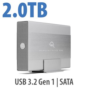 2TB OWC Mercury Elite Pro USB Storage Solution