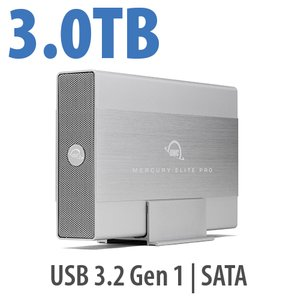 3.0TB OWC Elite Pro External 7200RPM USB 3.0 High-Speed