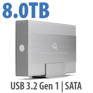 8TB OWC Mercury Elite Pro USB Storage Solution