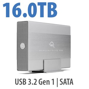 16TB OWC Mercury Elite Pro USB Storage Solution