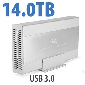 14.0TB OWC Mercury Elite Pro 7200RPM Storage Solution with USB 3.1 Gen 1 +1 Port