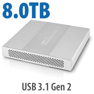 8.0TB OWC Mercury Elite Pro Dual mini Portable, Bus-Powered High-Performance USB-C RAID SSD External Storage Solution