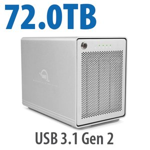 72.0TB OWC Mercury Elite Pro Quad RAID Ready Four-Drive HDD External Storage Solution