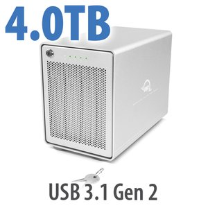 4TB OWC Mercury Elite Pro Quad RAID 5 4-Drive HDD Storage Solution