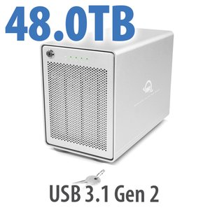 48TB OWC Mercury Elite Pro Quad RAID 5 4-Drive HDD Storage Solution
