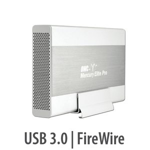 "(*) OWC Mercury Elite Pro FireWire 800 & USB 3.0/2.0/1.1 Enclosure Kit for 3.5"" HDDs up to 8.0TB"