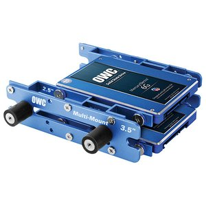 OWC Multi-Mount: 2.5 to 3.5 (x2) / 3.5 to 5.25 Hard Drive adapter bracket set.