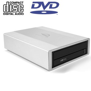 OWC Mercury Pro 24X External USB 3.0 SuperMulti-Drive up to 24X DVD, 12X DL DVD, 48X CDRW