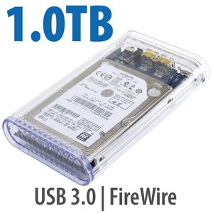 1.0TB OWC On-The-Go Pro 7200RPM FW800/USB3