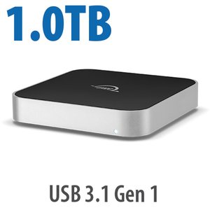 1.0TB OWC miniStack 7200RPM Storage Solution with USB 3.1 Gen 1