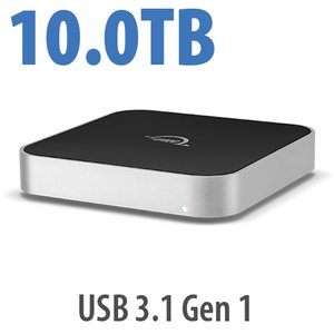10.0TB OWC miniStack 7200RPM Storage Solution with USB 3.1 Gen 1