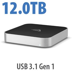12.0TB OWC miniStack 7200RPM Storage Solution with USB 3.1 Gen 1