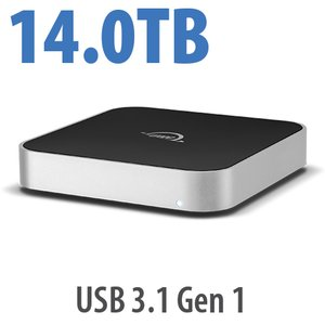 14.0TB OWC miniStack 7200RPM Storage Solution with USB 3.1 Gen 1