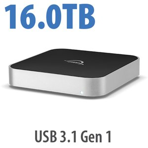 16.0TB OWC miniStack 7200RPM Storage Solution with USB 3.1 Gen 1