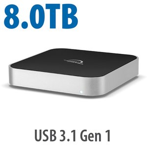 8.0TB OWC miniStack 7200RPM Storage Solution with USB 3.1 Gen 1