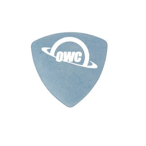 OWC Guitar Pick / custom Pry Tool. Oversized, Reuleaux triangle-shaped 1.0 Hardness blue DERLIN pick