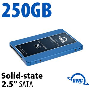 250GB Mercury Electra 3G 2.5-inch 7mm SATA 3.0Gb/s Solid-State Drive
