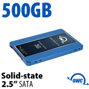500GB Mercury Electra 3G 2.5-inch 7mm SATA 3.0Gb/s Solid-State Drive