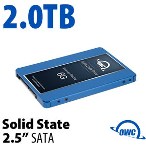2.0TB Mercury Electra 6G 2.5-inch 7mm SATA 6.0Gb/s Solid-State Drive