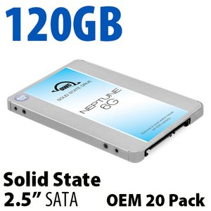 120GB OWC Neptune 6G 2.5-inch 7mm SATA 6.0Gb/s Solid-State Drive (OEM 20 Pack)